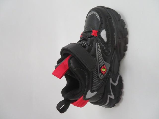 Buty Sportowe Dziecięce L250, Black/Red, 32-37