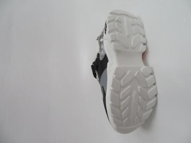 Buty Sportowe Dziecięce L229, Black/Green, 26-31 3