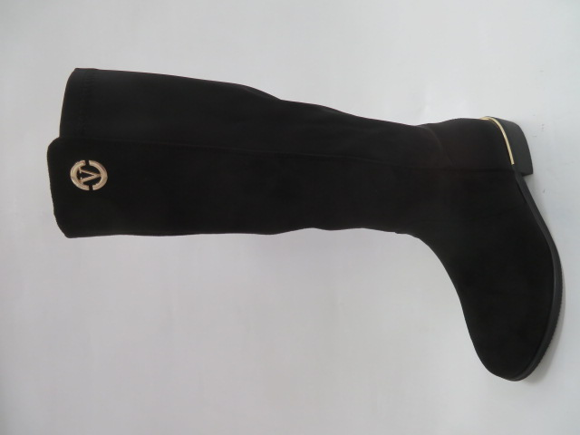 Kozaki Damskie K76, Black, 36-41
