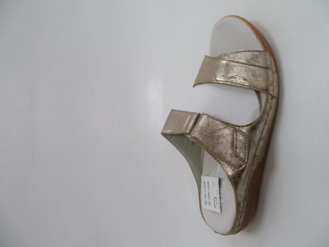 Klapki Damskie 0093, Silver, 36-41