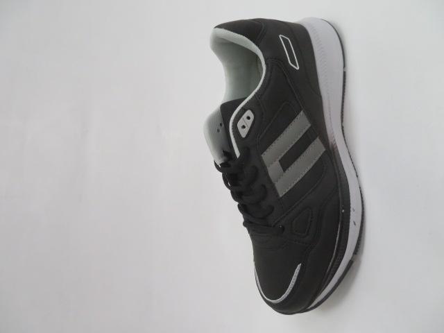 Buty Sportowe Męskie A031-4, Black/Grey, 41-46 1