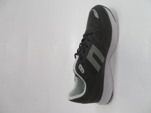 Buty Sportowe Męskie A031-4, Black/Grey, 41-46 2