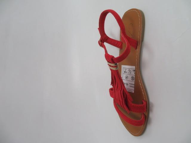 Sandały Damskie WL137, Red, 36-41