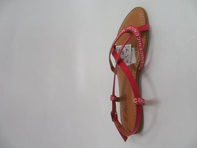 Sandały Damskie WL257, Red, 36-41
