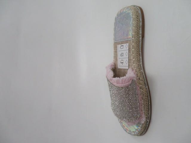 Klapki Damskie 99886-2, Pink/Silver, 36-41
