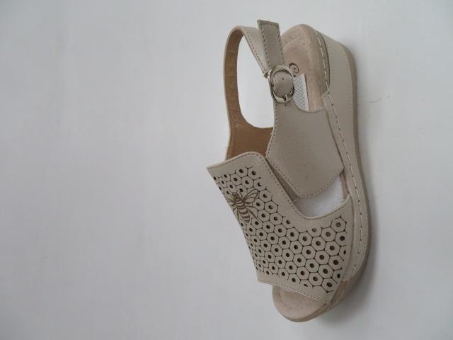 Sandały Damskie 56055-7,  Beige, 36-41