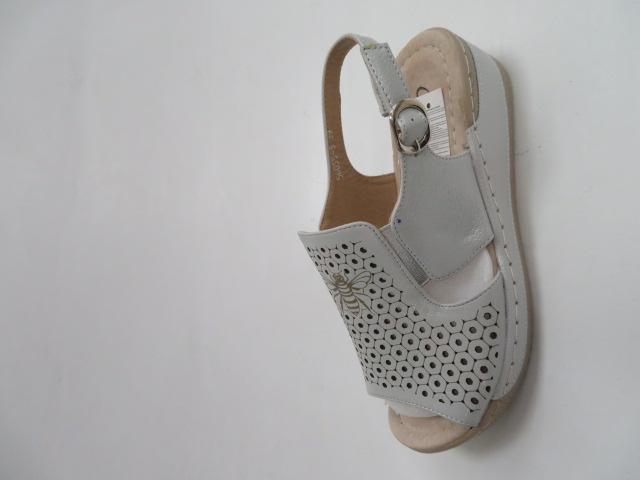 Sandały Damskie 56055-3, White, 36-41