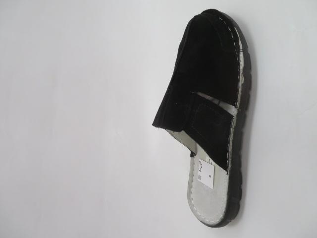 Klapki Męskie MNZ12005, Black, 41-46