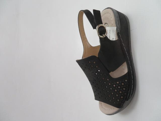 Sandały Damskie 56055-1, Black, 36-41