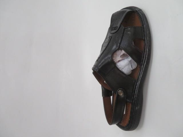 Klapki Męskie MN607-1, Black, 40-46