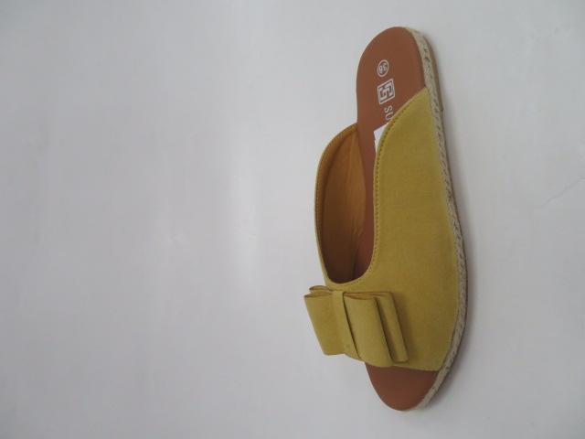 Klapki Damskie HL29, Yellow, 36-41 1