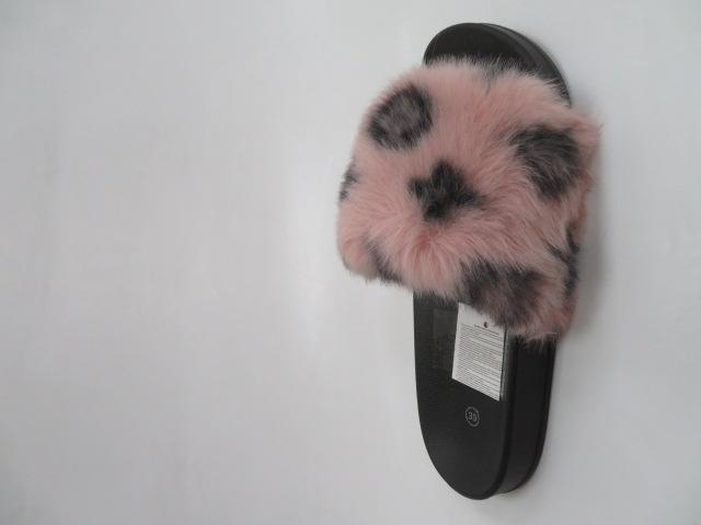 Klapki Damskie LE516, Pink, 36-41