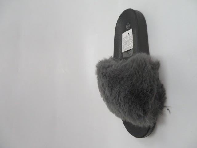 Klapki Damskie LE398, D.Grey, 36-41 2