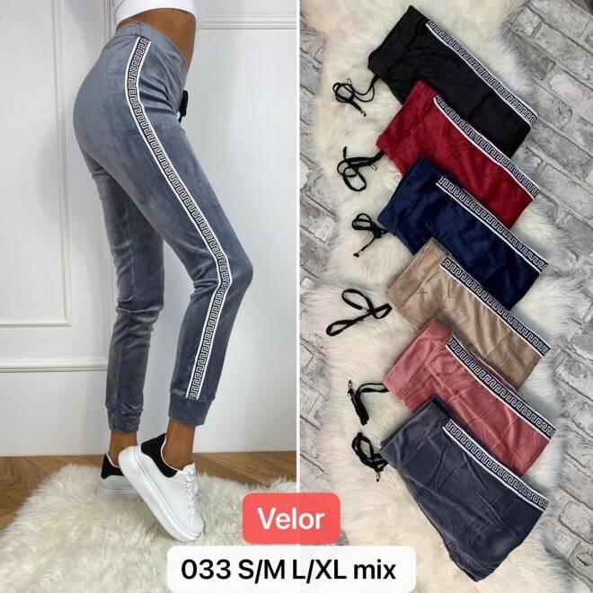 Spodnie Damskie 033 MIX KOLOR S/M-L/XL