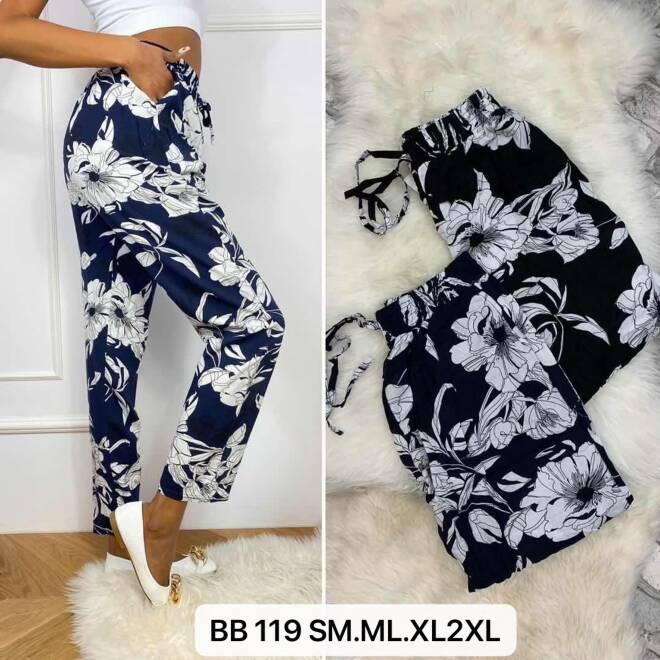 Spodnie Damskie BB119 MIX KOLOR S/M-M/L-XL/2XL