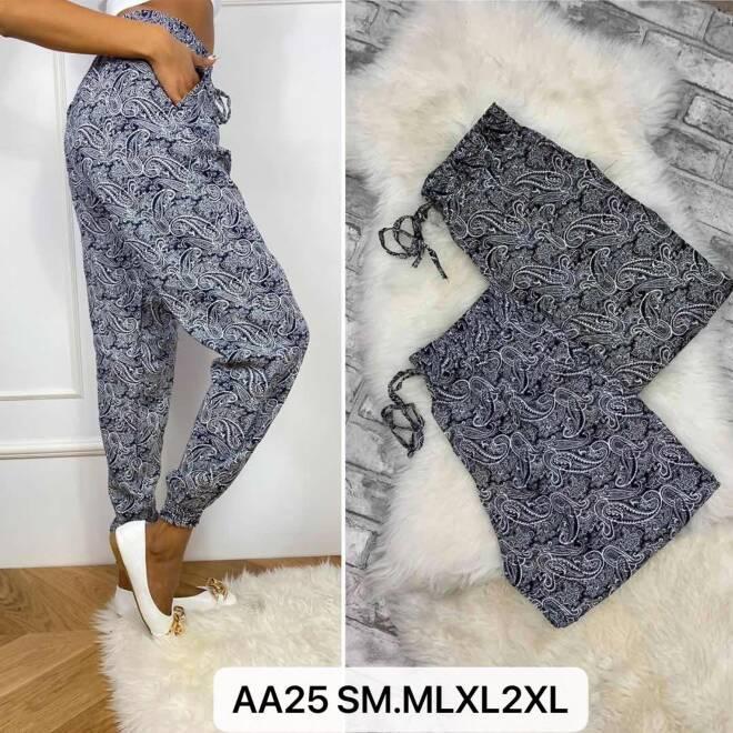 Spodnie Damskie AA25 MIX KOLOR S/M-M/L-XL/2XL