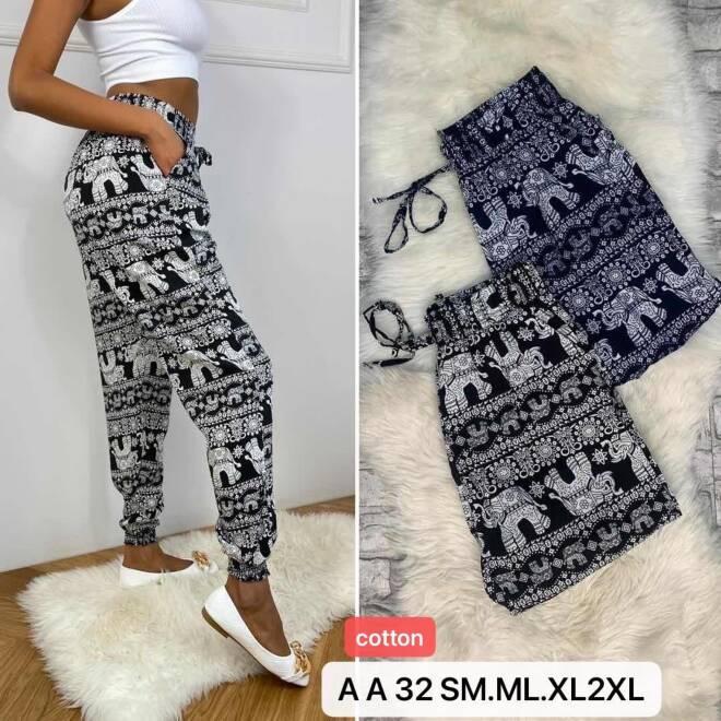 Spodnie Damskie AA32 MIX KOLOR S/M-M/L-XL/2XL