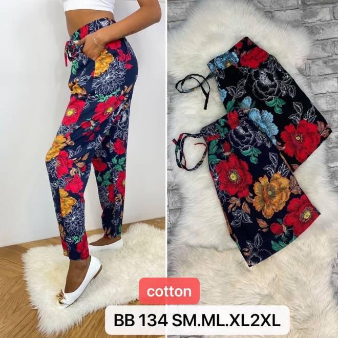 Spodnie Damskie BB134 MIX KOLOR S/M-M/L-XL/2XL