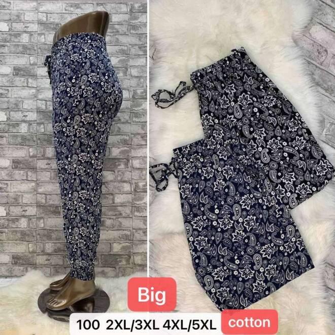 Spodnie Damskie 100 MIX KOLOR 2XL/3XL-4XL/5XL