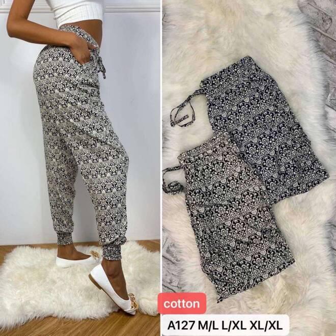 Spodnie Damskie A127 MIX KOLOR M/L-L/XL-XL/2XL