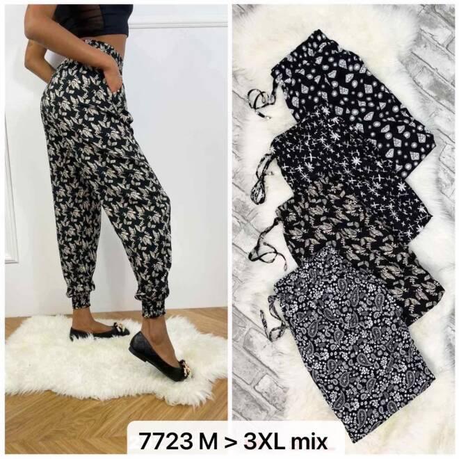 Spodnie Damskie 7723 MIX KOLOR M-3XL