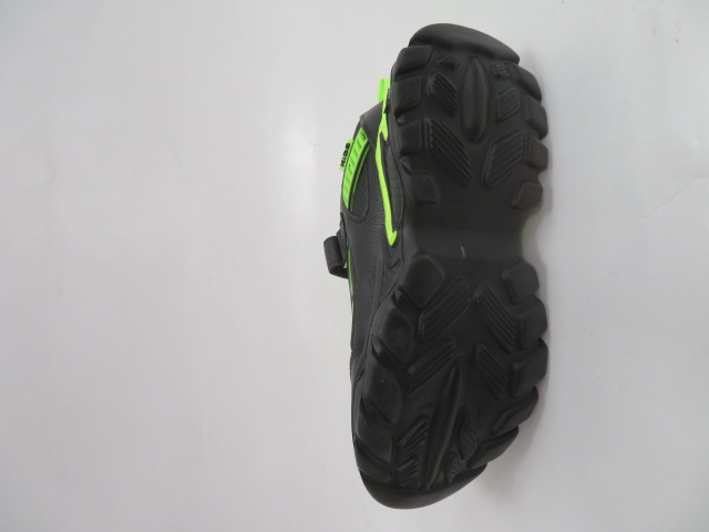 Buty Sportowe Dziecięce L-237, Black/Green, 32-37
