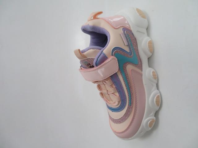 Buty Sportowe Dziecięce E61, Pink/Purle, 31-36