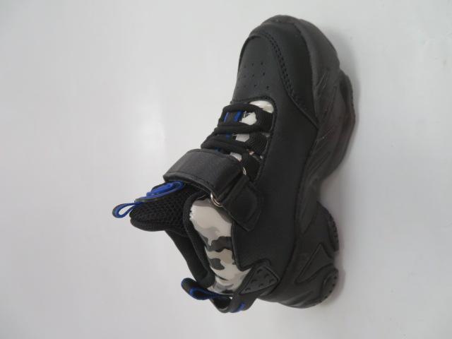 Buty Sportowe Dziecięce E79, Black/Royal, 26-31