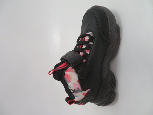 Buty Sportowe Dziecięce E79, Black/Red, 26-31