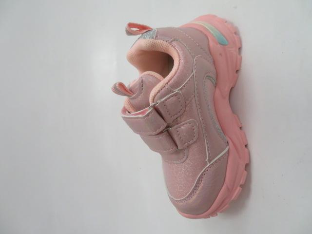 Buty Sportowe Dziecięce E69, Pink, 20-25