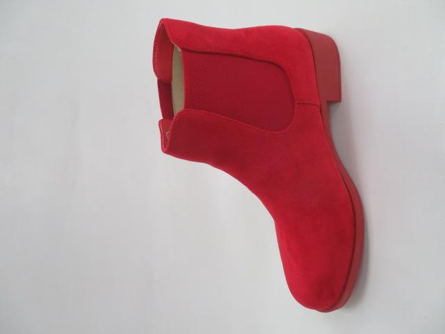 Botki Damskie LE-521, Red, 36-41 3