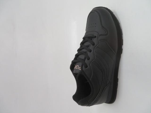 Sportowe Damskie B016, Black, 37-41
