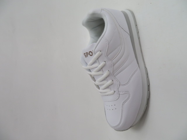 Sportowe Damskie B016, White, 37-41