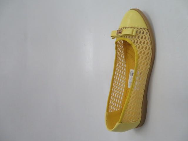 Baleriny Damskie1378, Yellow 36-41