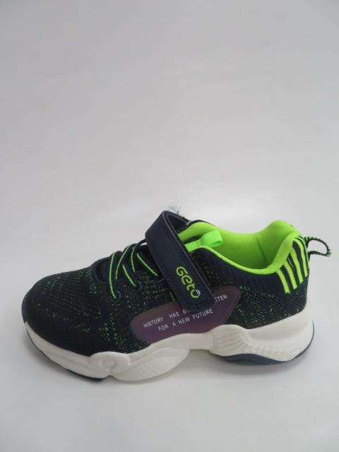 Buty Sportowe Dziecięce F759, Navy/Green , 32-37