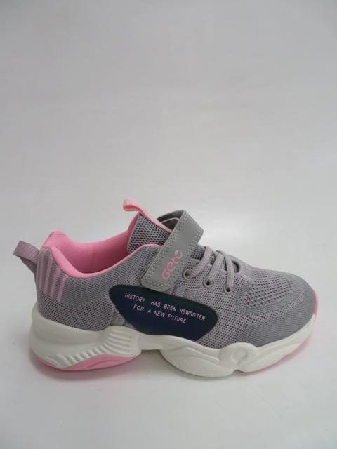 Buty Sportowe Dziecięce F759 , Gray/Pink, 32-37