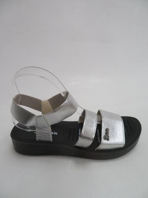 Sandały Damskie C301-2, Silver, 36-41
