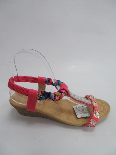 Sandały Damskie C8-4, Fushia, 36-41