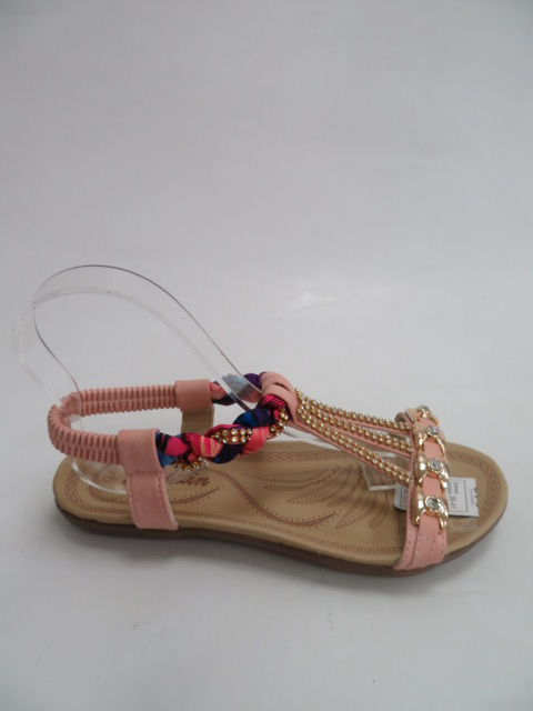 Sandały Damskie C3-4, LPink, 36-41