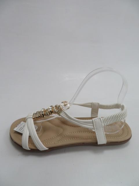 Sandały Damskie C505-2, White, 36-41