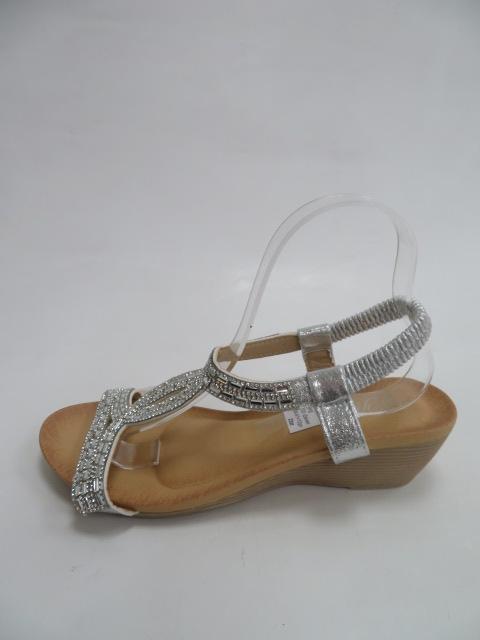 Sandały Damskie F03-2, Silver, 36-41