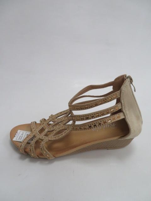 Sandały Damskie F01-2, Beige, 36-41