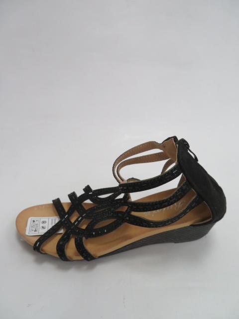 Sandały Damskie F01-1, Black, 36-41