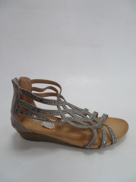 Sandały Damskie F01-3, Gray, 36-41