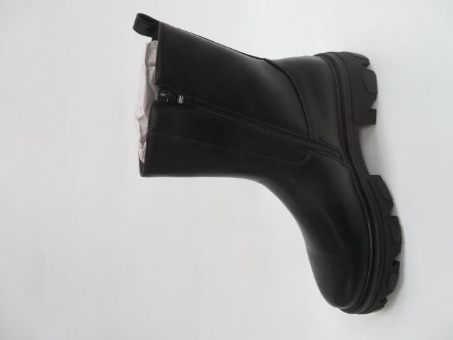 Botki Damskie 2025-A299P, Black, 36-41 3