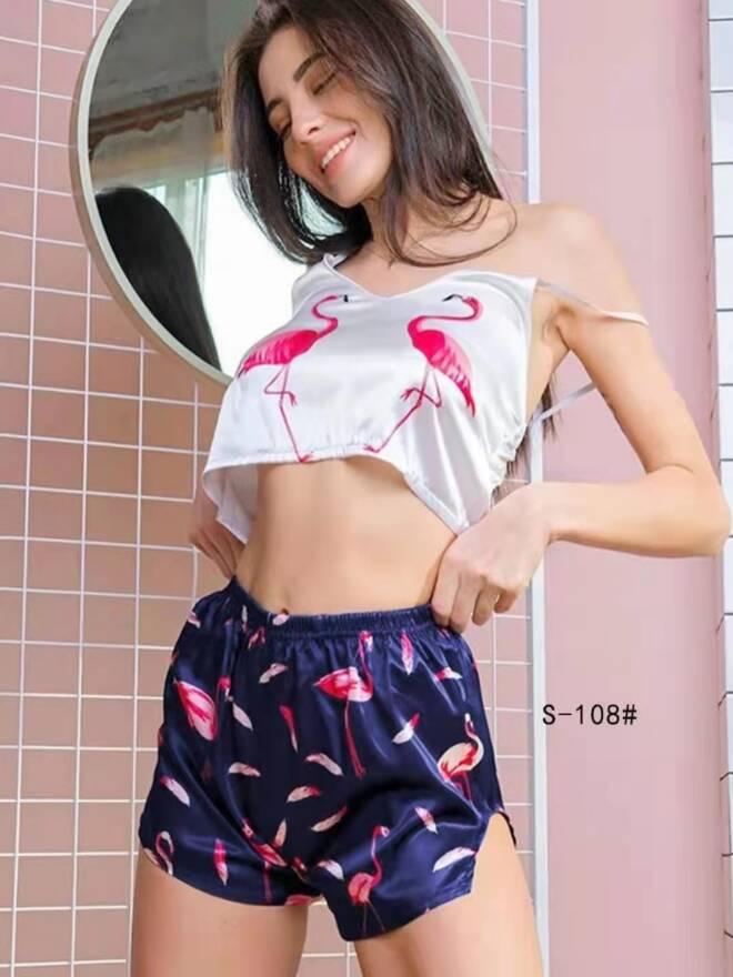 Piżama Damska S-108 MIX KOLOR S/M-L/XL