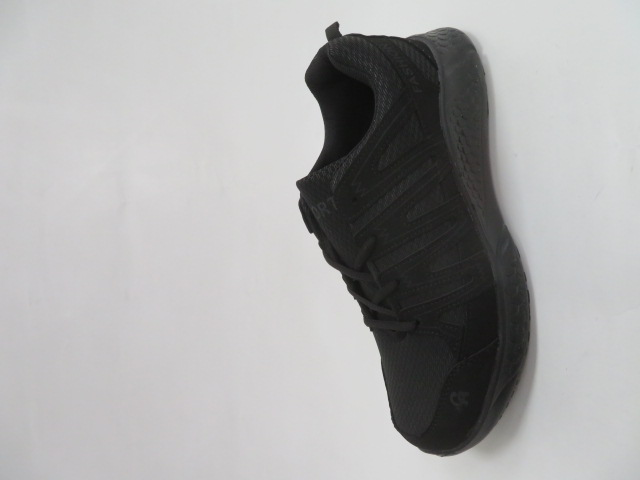 Buty Sportowe Męskie F065, All Black, 41-46 1