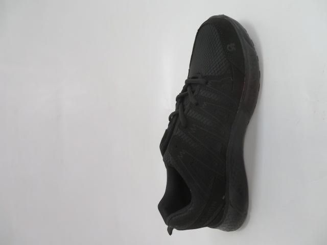 Buty Sportowe Męskie F065, All Black, 41-46 2