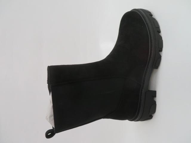 Botki Damskie 2025-A299S, Black, 36-41 1