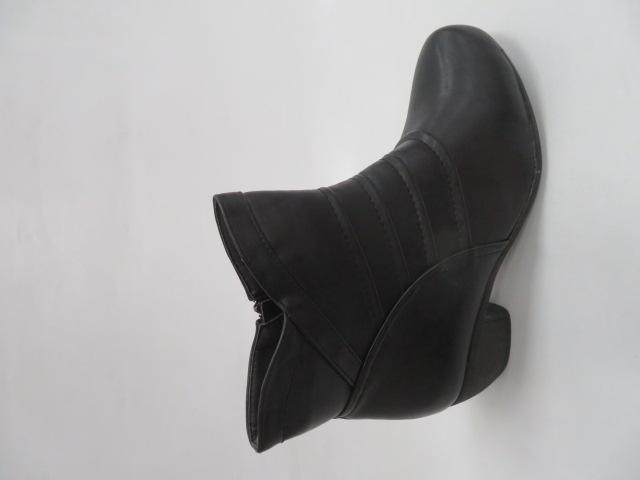 Botki Damskie NZ08, Black, 36-41